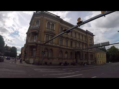 Finland Turku City center / Finlande Turku Centre ville, Gopro