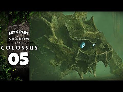 MOUNTAIN SPIDER THING | Shadow Of The Colossus (PS4 - Let's Play Part 5)
