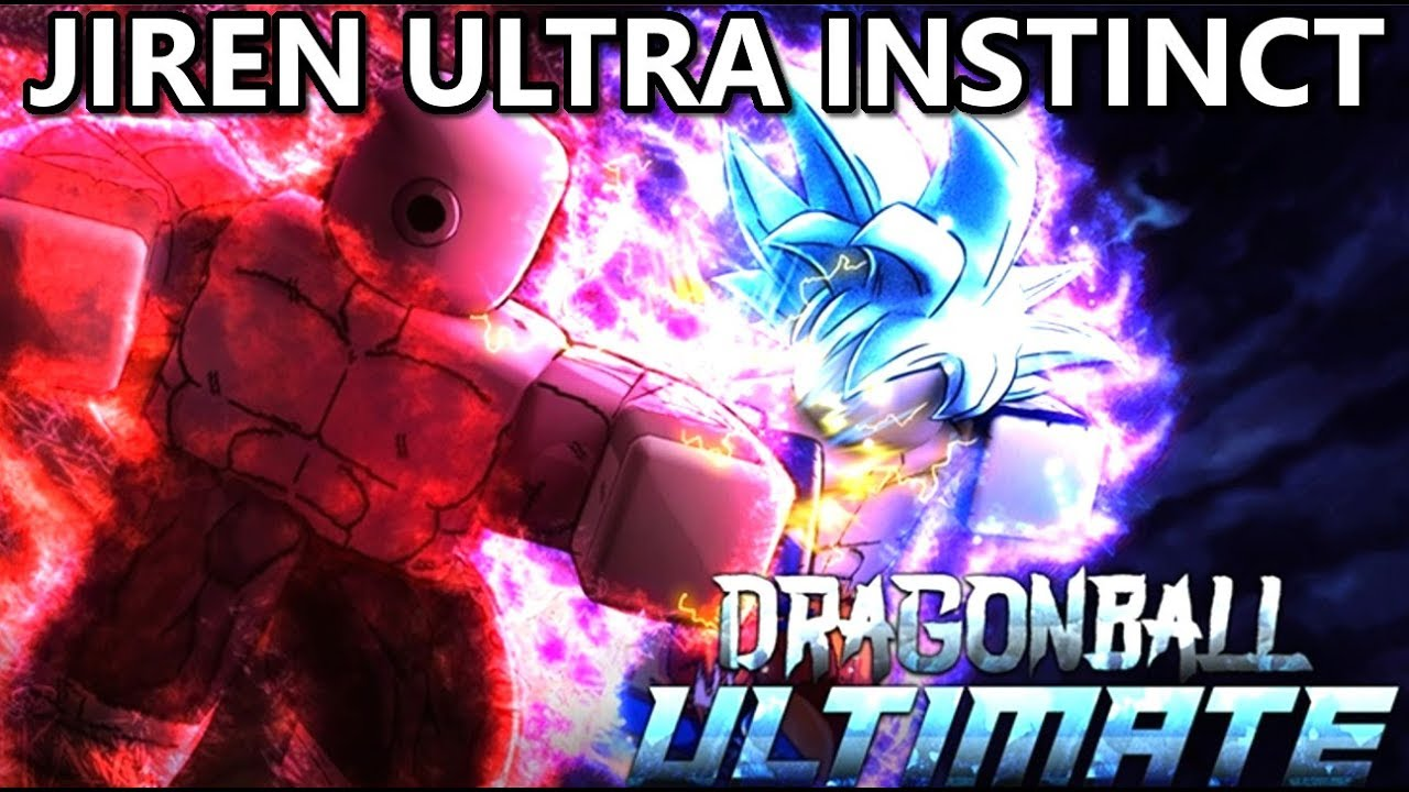 Roblox Dragon Blox Jiren Ultra Instinct Form Dragon Ball Ultimate Roblox Roblox Dragon Blox Ultimate Youtube