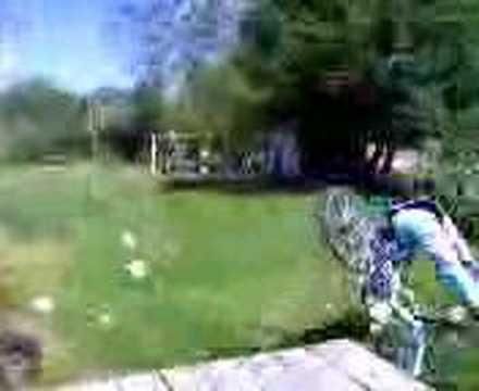 monica+bike= falling