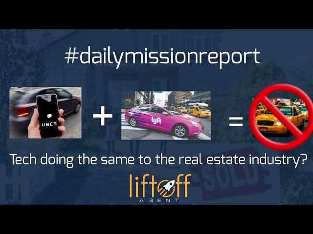 #missionreport -  Technology Disrupting The real Estate industry?