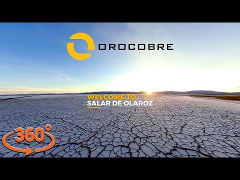 Orocobre Limited - 360º Video Tour of Olaroz Lithium Facility [4K]