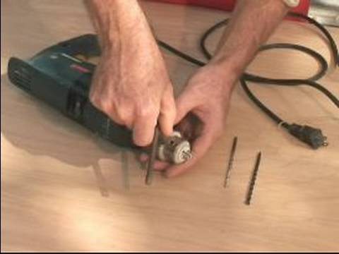 How to Use a Hammerdrill : How to Change Hammer Drill Bits