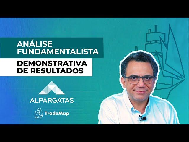 Demonstrativa de Resultados || ALPARGATAS (ALPA4) || Prof Giácomo Diniz