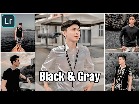 Tutorial Edit Foto Ala Selebgram | Black Gray 🔥 | Free Preset Lightroom Terbaru 2020