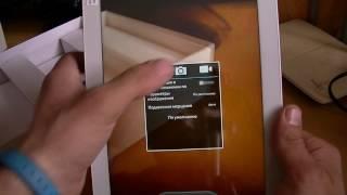 Onda V10 3G Розпакування дуже красивого ''ну дуже великого телефону'')))