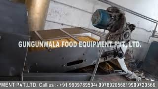 Continuous  Boondi Namkeen Dal Fryer with Wooden Boiler