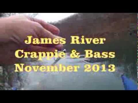 Crappie And Bass Fishing Nov 2013