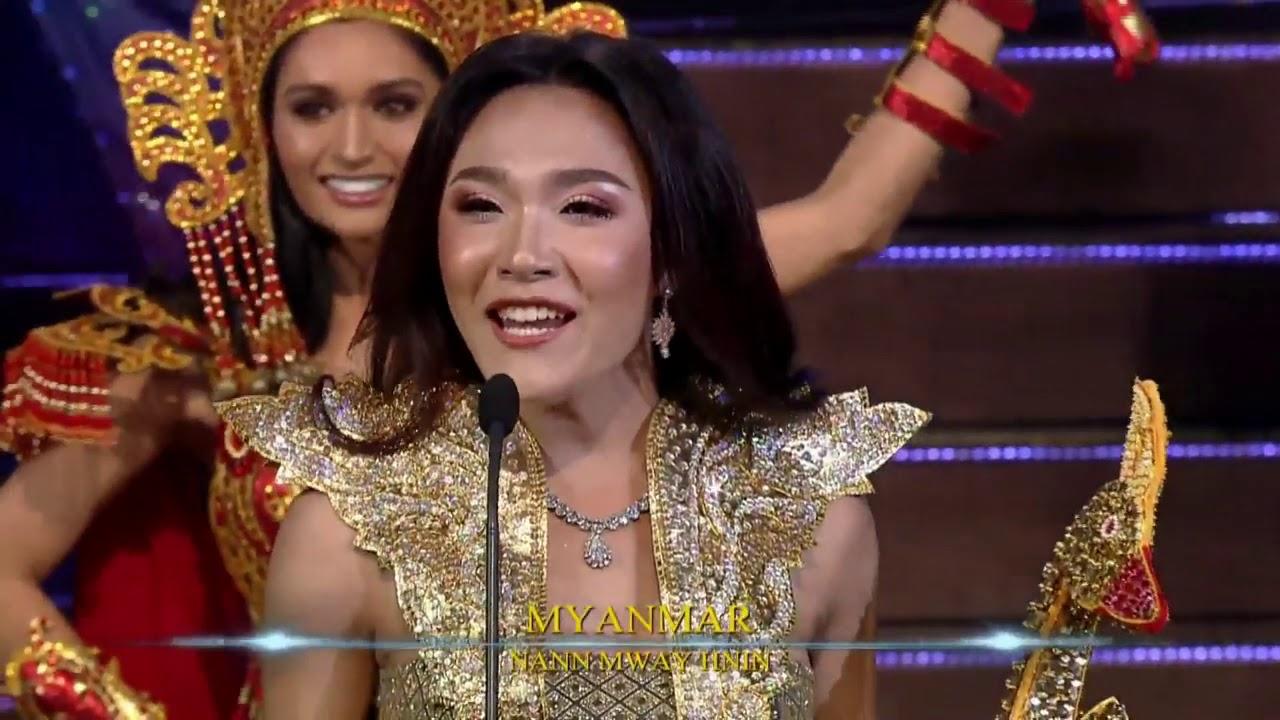 Miss International Queen 2019 National Costumes