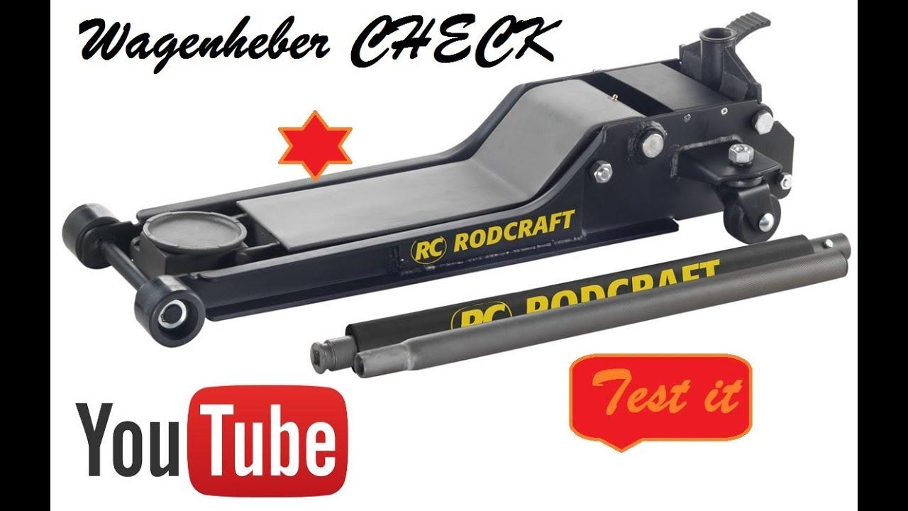 wagenheber rodcraft hydraulischer rangierwagenheber rh 215. Black Bedroom Furniture Sets. Home Design Ideas