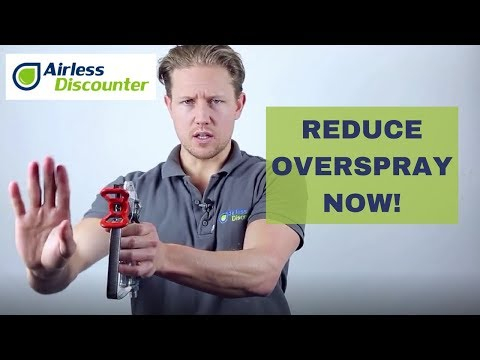 Reducing Overspray - Tips and Tricks with Airless Discounter Part 1