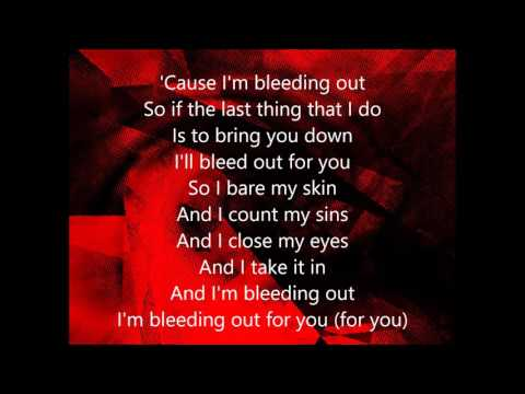 Imagine Dragons Bleeding Out lyrics - YouTube