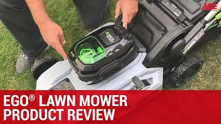 EGO Lawn Mower Product Review - Ace Hardware