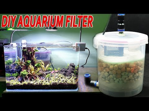 Build a Aquarium Filter At Home