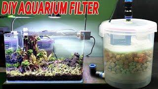 Build a Aquarium Filter At Home