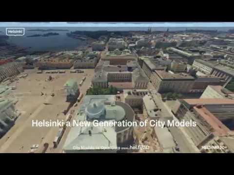 New generation city models of Helsinki