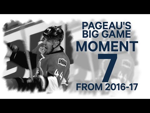 No. 7/100: Pageau's big game against the Rangers