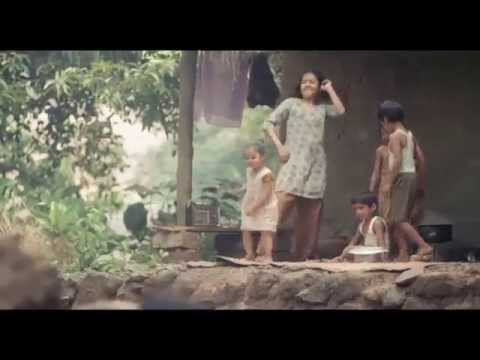 Vaibhavi Hankare (well known child actress in India) in Spanish film 'Traces of Sandalwood'