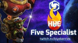 HeroesHearth Esports INVASION! 5 Specialist Comp!