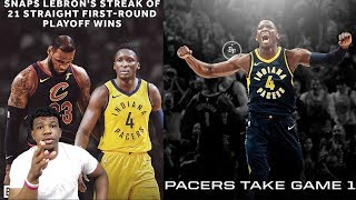 PACERS TAKE GAME 1!! VICTOR OLADIPO HAS ARRIVED ! Pacers vs Cavs Game 1 REACTION !