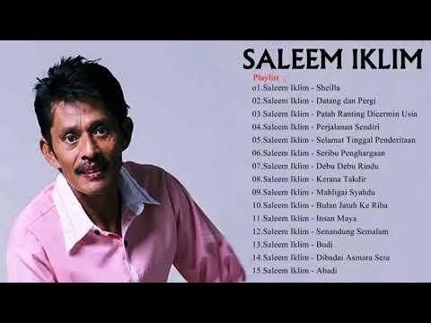 Saleem Iklim   Full Album   Slow Rock Lawas Malaysia   Lagu Malaysia Lama Terbaik Sepanjang Masa