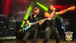 ARTHEMIS Live @ WACKEN OPEN AIR 2014 - SCARS ON SCARS / BLOOD OF GENERATIONS / VORTEX