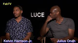 """LUCE""  Actor Kelvin Harrison Jr. & Director Julius Onah"