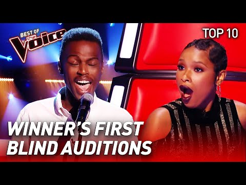 TOP 10 | INCREDIBLE Blind Auditions of WINNERS in The Voice