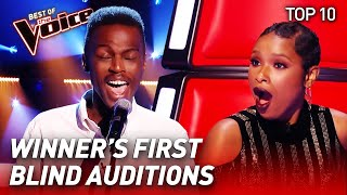TOP 10 | WINNER'S Blind Audition in The Voice