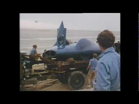Muloorina - Donald Campbell's Bluebird World Record Attempt at Lake Eyre