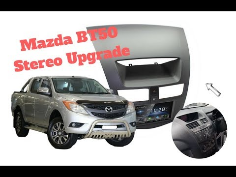 How To Install Radio In Mazda Bt50 Stereo Replacement 2012 To 2017 Youtube