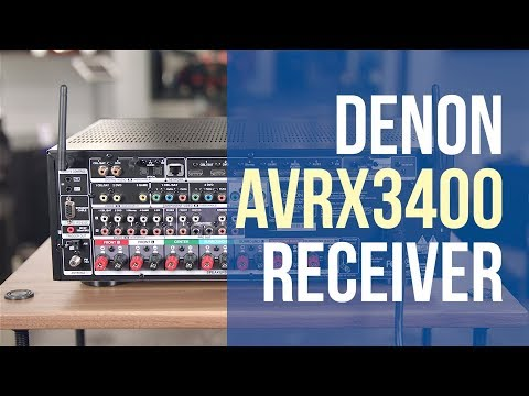 Denon Receiver AVR X3400H Overview