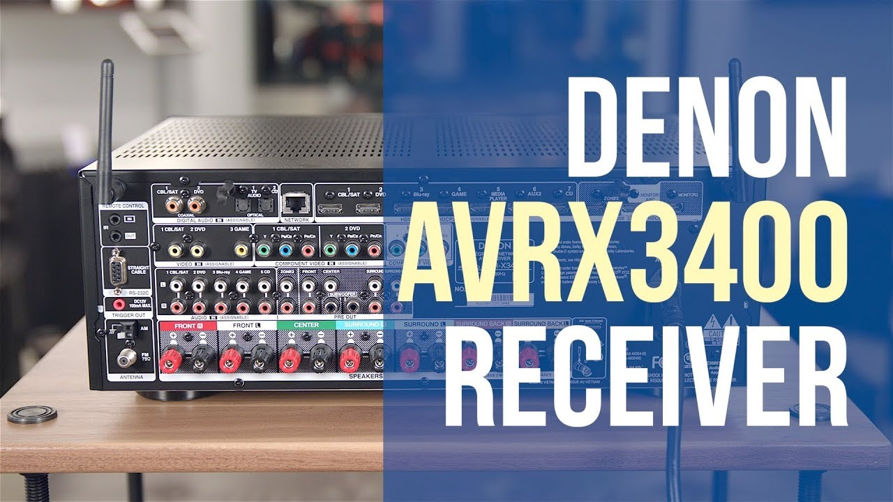 denon receiver avr x3400h overview denon receiver avr x3400h overview