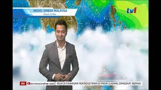 N8 LANGSUNG MET MALAYSIA LAPORAN CUACA 8PM
