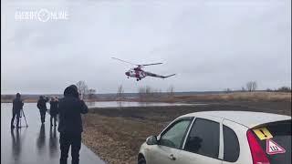 Из Челнов на санитарном вертолете в ДРКБ Казани отправили первого пациента