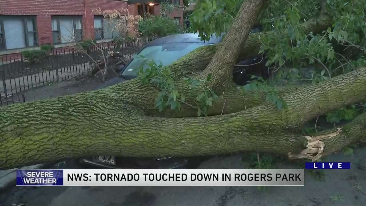Tornado Confirmed In Rogers Park