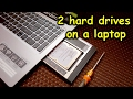 How to add 2 hard drives in your laptop and expand storage (USE SSD AND HDD TOGETHER IN A LAPTOP)