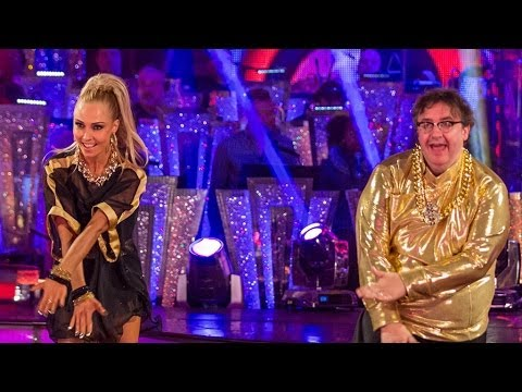 Mark Benton & Iveta Cha Cha to 'U Can't Touch This'  Strictly Come Dancing: 2013  BBC One