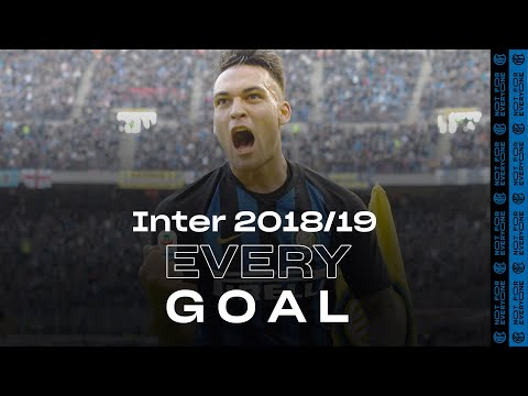 EVERY GOAL!   INTER 2018/19 ⚽⚫🔵😮