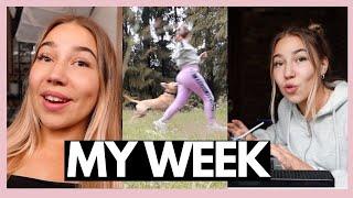 MY WEEK | KUVAUKSIA, PAKETTEJA, KOIRIA JA LAAVULLA YÖTÄ  📷📦🐕🌲| Nelli Orell ♡