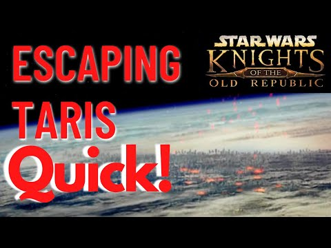 Quickest Route off Taris (Glitchless) - Knight of the Old Republic |