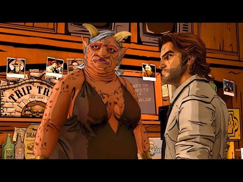 Trip Trap Bar: Sheriff Bigby Fights with Monster Grendel (Wolf Among Us | Telltale Games Story)