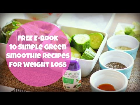 FREE Green Smoothie Recipe E-Book For Weight Loss   By: What Chelsea Eats