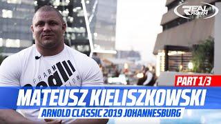 [ENG/PL SUB] Mateusz Kieliszkowski -  Strongman Arnold Classic 2019 Johannesburg Part 1/3