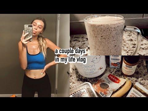 vlog:-healthy-cookies-n-cream-shake-,-current-measurements