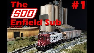 Layout Update #1 - The SOO line Enfield Sub!