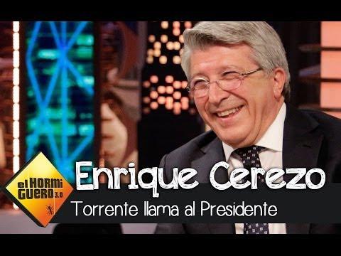 El Hormiguero 3.0 - Torrente llama a Enrique Cerezo