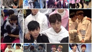 Video Park Woojin's Friends (Guanlin, Hyungseop, Dongsu, Donghyun, Youngmin and others) (Produce 101) download MP3, 3GP, MP4, WEBM, AVI, FLV Agustus 2017