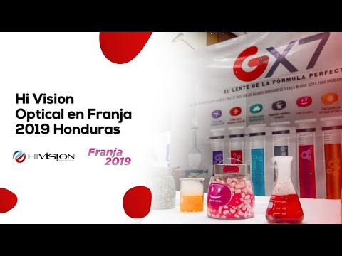 Hi Vision Optical en Franja 2019 Honduras 🇭🇳