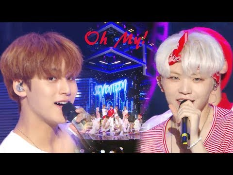 [HOT]SEVENTEEN - Oh My!, 세븐틴 - 어쩌나 Show Music Core 20180804